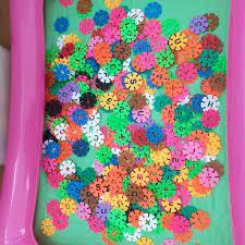 Đồ Chơi Ghép Hình Hoa Sáng Tạo (500 chi tiết - Có hộp đựng)