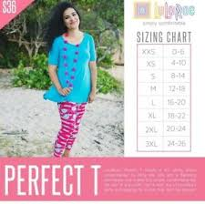 Classic Tee Lularoe Size Chart Details About Lularoe Perfect T Mystery All Sizes Available Xxs Xs S M New Nwt