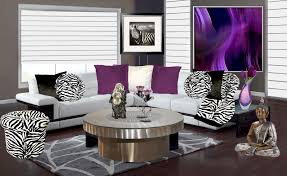Small Picture Purple And Grey Themed Living Room House Design Ideas