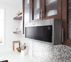 low profile design maximize space by moving your microwave off the countertop with a low profile design that fits in the same space as your undercabinet