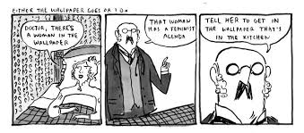 kate beaton takes on charlotte perkins gilman s the yellow explore the yellow and more