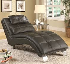 Nice Furniture:Ultra Modern Unique Black Chaise Lounge Chairs Bedroom White  Mattress Padded Seat Cubical Potted