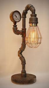 30 Creative Industrial Pipe Lamps Diy Ideas Diy Diyhomedecor