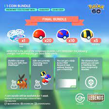 Pokémon GO: So long 1 PokéCoin Bundle – Gaming2gether Media