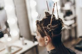 Chopstick Hairstyle hair & chopsticks mikutanu 2601 by wearticles.com