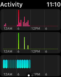Exercise Chart App Inside The Activity App Healthtechcoach