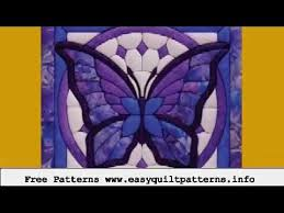easy machine quilting butterfly applique quilt block patterns ... & easy machine quilting butterfly applique quilt block patterns Adamdwight.com