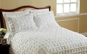 white chenille bedspread. Exellent White Cody Direct Chronos Cotton Chenille Bedspread  King White To F