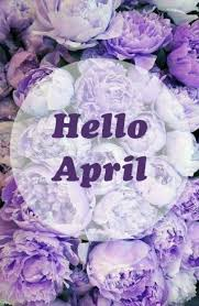 Purple Flower Quotes Purple Flowers Hello April Quote Pictures Photos And Images For