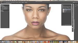 applying makeup in adobe photo cc