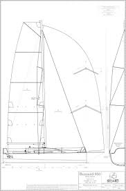 Bedard Yacht Design Buzzard 950 Racing Sailboat Bedard Yacht Design In 2019