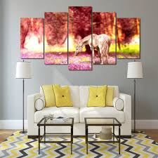Painting Canvas For Living Room Jungle Paintings Promotion Shop For Promotional Jungle Paintings