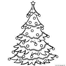 Printable Christmas Tree Christmas Tree Free0ff6 Coloring Pages Printable