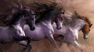 Horse Painting Wallpapers - Top Free ...