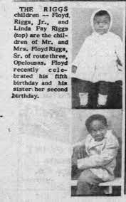 The Riggs Children Birthday: 5th Floyd Riggs Jr and 2nd Linda Fay Riggs -  Newspapers.com