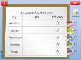 Bar Chart Challenge: A year 3, handling data worksheet