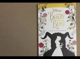 Small Picture Disney Beauty And The Beast Live Action Coloring Book flip