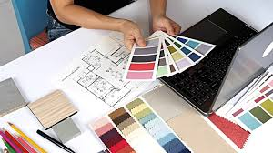 Interior designer working video