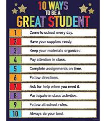 Motivational Charts For School Amazon Com Carson Dellosa 1 Decorative Chart 114249