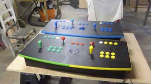 4 Player Arcade Cabinet Kit 2 Player Arcade Control Panels Youtube