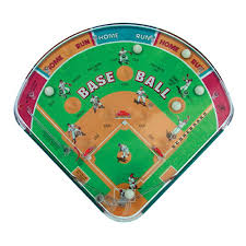Wooden Baseball Game Toy Baseball Pinball Game The Wooden Toy 58