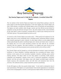 Buy Genuine Degree Com Is A Safe Bet For Authentic