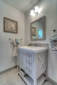 Powder Room Design Ideas 7 Tags Traditional Powder Room With Seal Harbor 3025 In Vanity In Sharkey Gray With Vanity Top