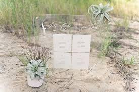 Diy Modern Beach Wedding Seating Chart Cricut Ideas From