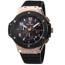 aliexpress com buy megir chronograph sport watch silicone army megir chronograph sport watch silicone army gold luxury watches for men top brand military watch relogio