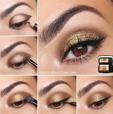 tutorial for more black brown and gold eye shadow i truly hope you have found these holiday eye makeup