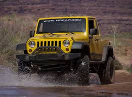 jeep jk 8 truck now available from mopar