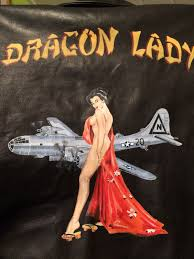 dragon lady on a cockpit a 2