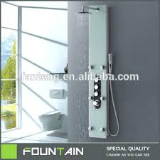 best shower panel tap faucet tempered glass tower faucets for