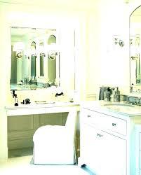 corner makeup vanity mirror with um size of tall table lights bathroom de glam vanity stool corner makeup