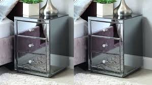 smoked mirrored furniture. Mirrored Furniture Manufacturers Large Size Of Mirror Pair Smoke Bedside Table Wholesale Smoked
