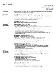 Captivating Resume For Teacher Assistant Job With Preschool