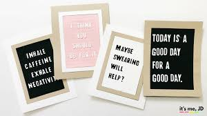 diy letter board card and paper crafts ideas