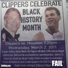 Black History Month FAIL | Funny Pictures, Quotes, Pics, Photos ...
