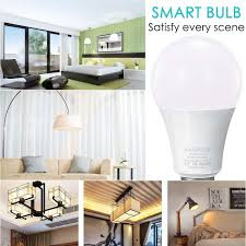Smart Led Light Bulb Wi Fi Dimmable 2700k 6500k 60w Equivalent 800l
