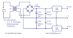 frequency to voltage converter circuit based on the tc9400 ic power supply for f to v converter