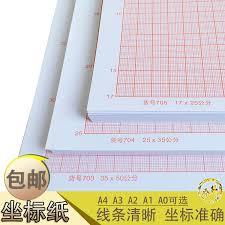 Usd 7 01 Orange Red Calculation Paper Graph Paper Coordinate Paper