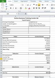 Payroll Free Software Download Excel Salary Slip Format In Excel For Download Top Docx