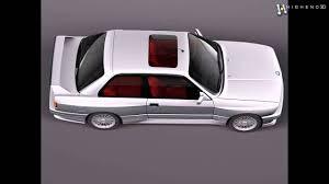 BMW M3 e30 1985-1991 3D Model From CreativeCrash.com - YouTube