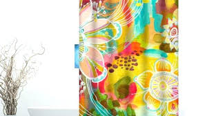 custom printed shower curtains awesome best curtain along with 5 vinyl