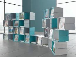 Free Standing Shop Display Units Modular floorstanding retail display unit PERIO'CUB By DPC 93