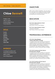 Best Online Resume Template Sumptuousresume Mycvfactory
