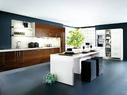 Modern Kitchen Furniture Shinining And Panoramic Beautiful Kitchens In Modern Interior