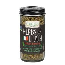 Frontier <b>Herbs of Italy</b> Seasoning Blend 0.80 oz. - Frontier Co-op