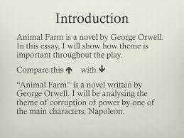 Animal Farm Essay Animal Farm By George Orwell Ppt Download