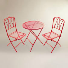 balcony chair and table design ideas for urban outdoors folding outdoor bistro chairs red metal 3 piece set 90